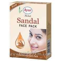 Маска для лица Сандал Ayur Anti-dryness Face Pack Sandal 100 грм