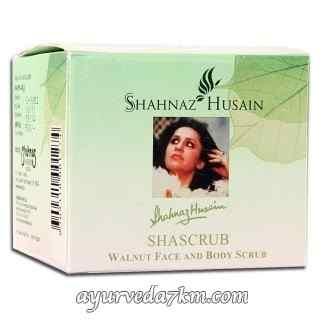 Шаскраб с грецким орехом для лица и тела 40 г Shahnaz Husain Shascrub