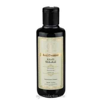 Травяной шампунь с экстрактом Шикакай 210 мл Кхади Khadi Herbal shampoo Shikakai 210 ml