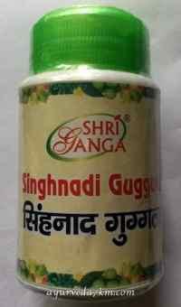 Синхнади Гуггул 50 грм Singhnad Guggul Shri Ganga