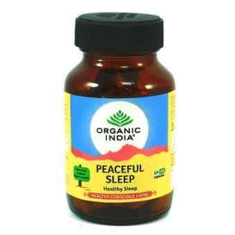 Писфул слип (спокойный сон) 60 капс Органик Индия (Peaceful sleep Organic India)