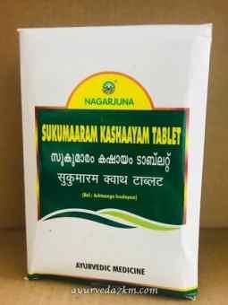 Сукумаарам Кашааям, Сукумара Кашая, Sukumaaram Kashaayam tablet, 100 таб.