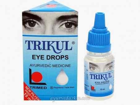 Глазные капли Трикул Trikul Eye drop 15 мл