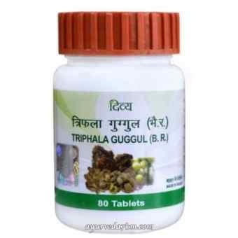 Трифала Гуггул Патанджали - Triphala Guggul Patanjali 80 таб