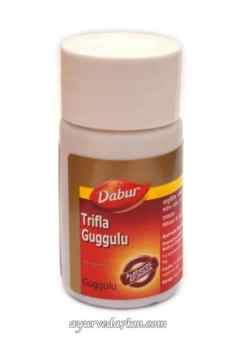 Трифала Гуггул Дабур 40 таб Triphala Guggulu Dabur