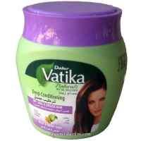 Маска для волос глубокое кондиционирование Dabur VATIKA Virgin Olive Deep Conditioning, 500 г