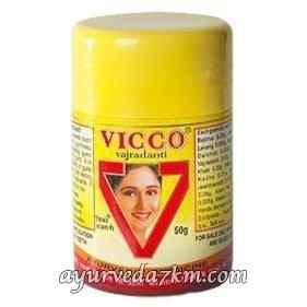Аюрведический Зубной Порошок Викко  Toothpowder Vicco Vajradanti 100 г