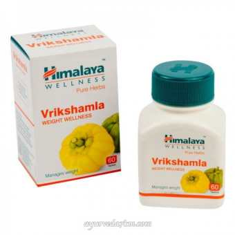 Врикшамла(контроль веса и очищение)60 кап.Vrikshamla Himalaya