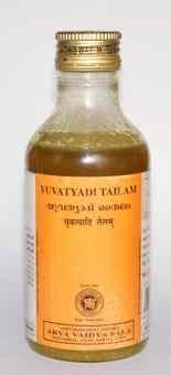 Юватьяди таил масло для умасливания и массажа женской груди  Yuvatyadi tailam, Arya Vaidya Sala 200 мл